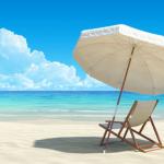 Photo of umbrella at beach